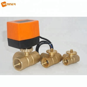 220v ON/OFF motorized flow control valve for water treatment