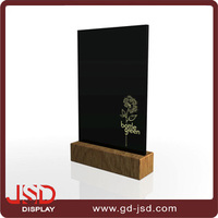 Wholesale Customized Solid Wood Card Holder For Kitchen Memos
