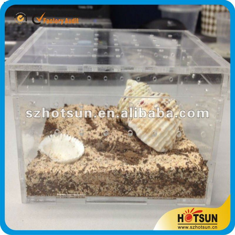 acrylic pet box /PMMA animal cage