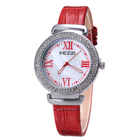 High Quality Roman Numerals Aliexpress Hot Sale Full Diamond Women Watches