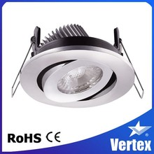 8W High quality LED ceiling down light LED kardan down light