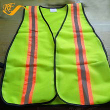 China Wholesale Fluorescent Yellow Polyester Railroad High Visibility Reflective Safety Reflective Vest
