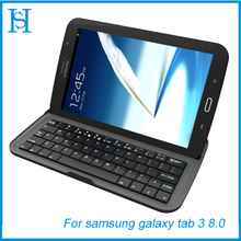 leather case for tablet with keyboard for galaxy tab 3 8.0
