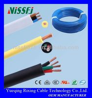 BVVB HOT SALE CABLE PVC insulated electric wire CABLE MANUFATURE h05vv-f 3g1.5mm2 power cords