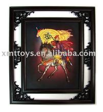 organic glass picture/photo frame