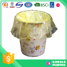pe material accept custom order plastic colored trash bags