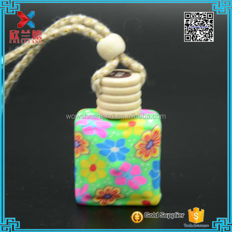 14ml Hanging glass bottle new car smell perfume for car, car perfume