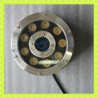 9W IP68 led underwater light fountain lights light fixture
