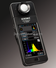 Sekonic c-7000 light spectrum meter spectrophotometer illuminance color temperature meter 380nm to 780nm