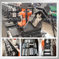 light weight steel frame c channel metal stud roll forming machine/ C U L W light gauge steel channel