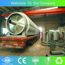 tyre recycling machine to crude oil to diesel similar to EURO 4 standard with CE
