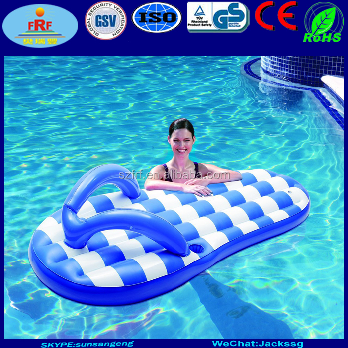 PVC Float Inflatable Flip Flop
