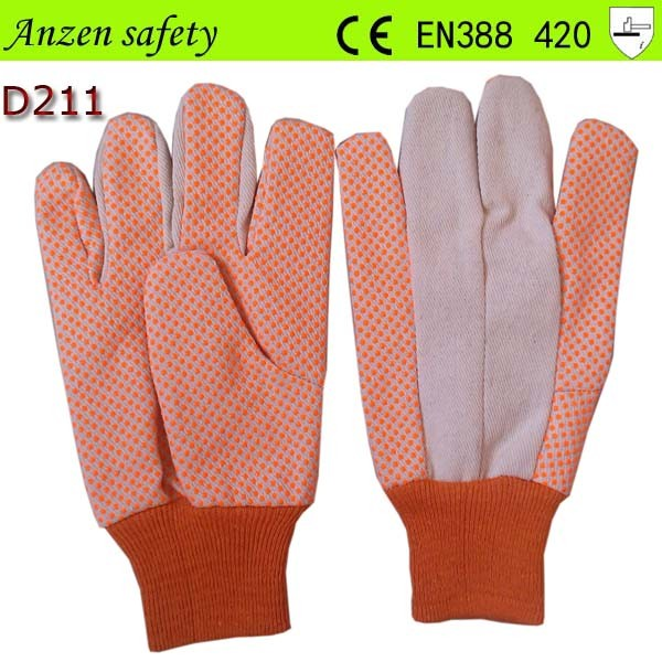 Top Sale Polka Dot Leather Home Gardening Gloves Buy