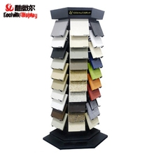 Artificial Quartz Stone Display Racks Marble Granite Sample Stands