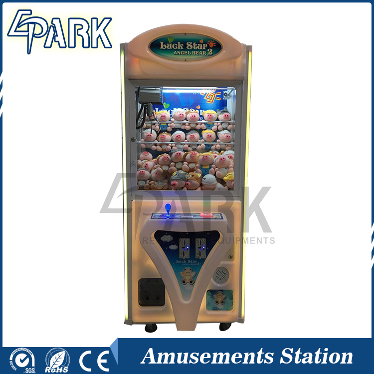 Coin Operated Amusement Arcade Game toys Gift Crane Claw Machine