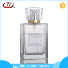 BBC Texture Series - TT007 Classical smart collection silver glass bottles natural elegance perfume for men