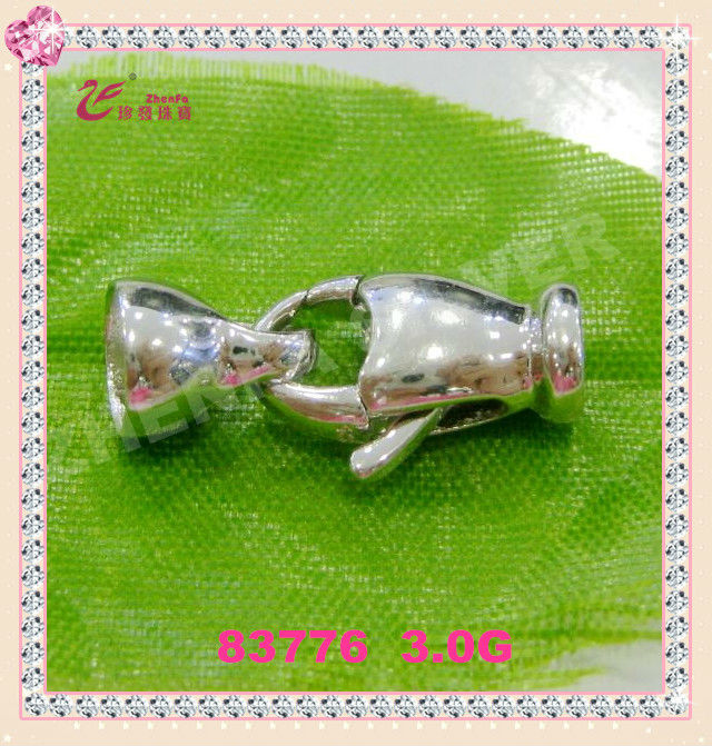 jewelry make in China 925 sterling silver necklace clasps