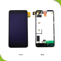 new original quality mobile phone big screen assembly for nokia lumia 630 n630 n635 lcd complete with black frame