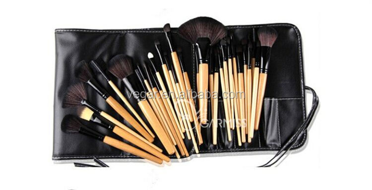 oval toothbrush makeup brush sets synthetic makeup brush set bamboo 24pcs brush set