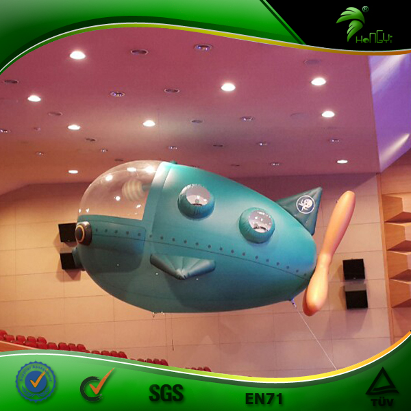 Inflatable Advertising Blimp Remote Control Advertising Airship Helium Inflatable Modeling