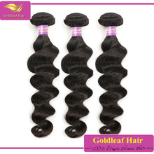 2017 new styles 100% brazilian loose body wave hair weave brazilian ocean wave hair weave