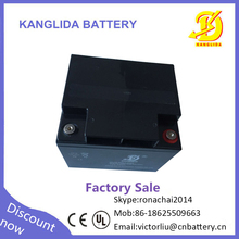 Kanglida 12v 40ah ups battery, deep cycle battery for home solar system