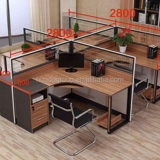 Cheap managerial Office workstation /Office Desk for 4 people