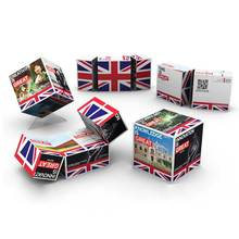 OEM Customized Picture Advertising Magnetic Magic Folding Magic Cubes