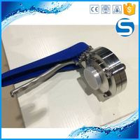 sanitary 304l polished japan pipe sanitary control oil butterfly valve
