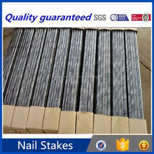 alibaba china concrete round steel nail stakes