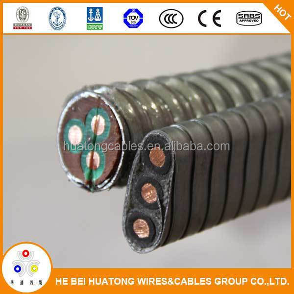 AWG 6 13.3mm2 ESP cable, submersible pump cable