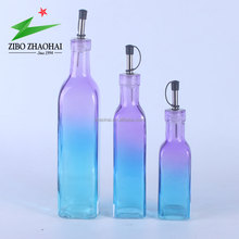 3pcs/set glass oil and vinegar bottles wholesale