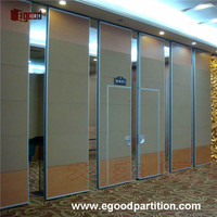 Customized Soundproof exhibition sliding doors interior room divider