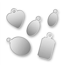 2016 Hot selling fashion silver plated engraved logo jewelry stainless steel dog tag pendant blanks