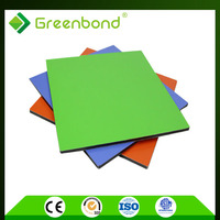 Greenbond bathroom decor attractive designs Aluminum Composite Panel recycling construction material