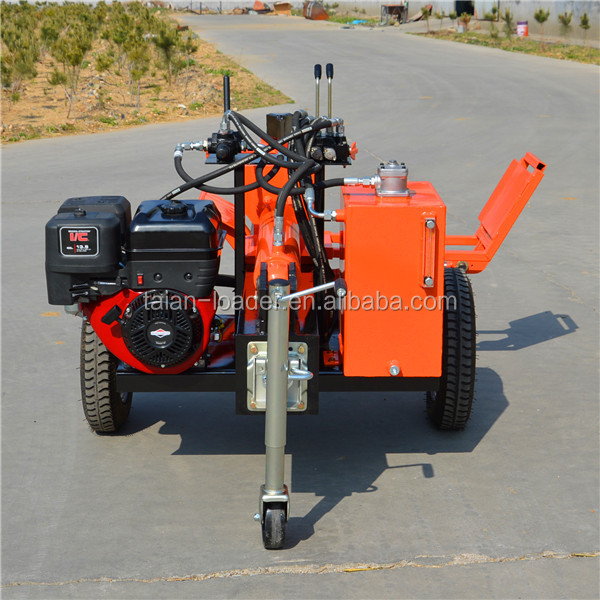 wood log splitter TS400 gasoline wood splitter for sale