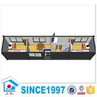 High Quality Low Cost Cheap Building Materials 40Ft Mobile Home House