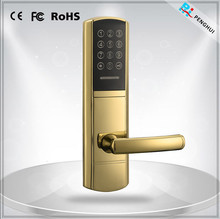 Safety Touch Screen Waterproof Electronic Password Outward Opening Door Locks
