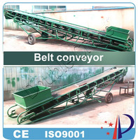 China automatic mineral ore belt conveyor system for mining industry