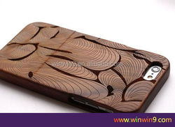 2015 Stylish wooden fashion design laser engraving smart phone case wood factory price high quality phone case for iphone