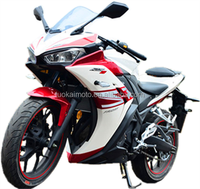 250cc racing motorcycle with 2cylinder water-cooled engine strong power 24KW motorcycle for sale (TKM250-3)