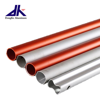 High Precision Custom Anodizing Aluminum Extrusion Tube