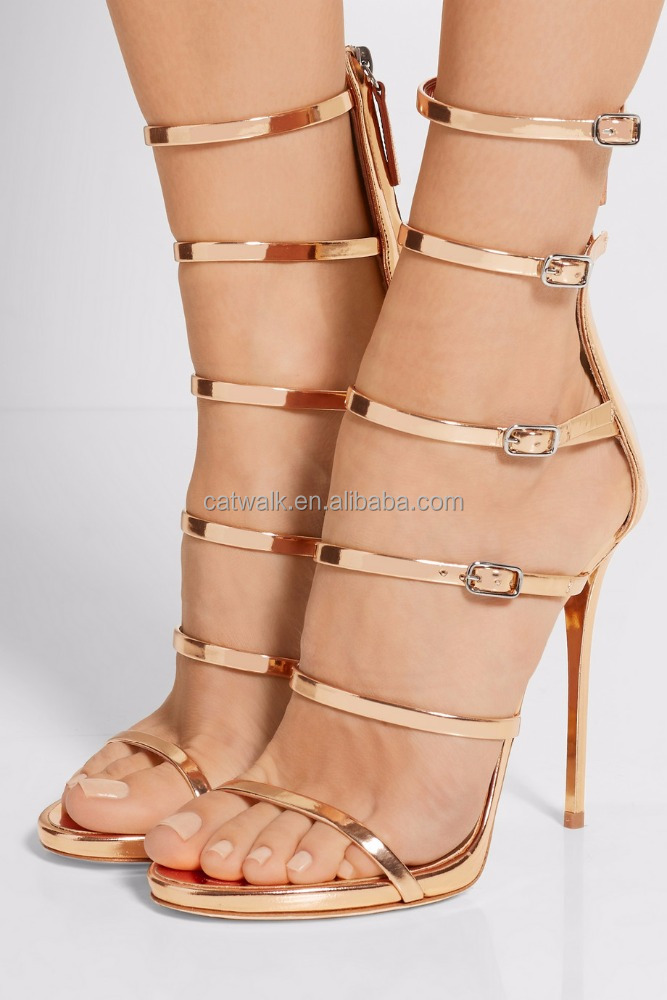 Sandals for women platfroms sexy side buckle stylish sandal boots high heel sandal 2016