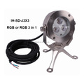 316 stainless steel rgb under water light 9W 24V projector underwater spot light for fountain ,pool water fall