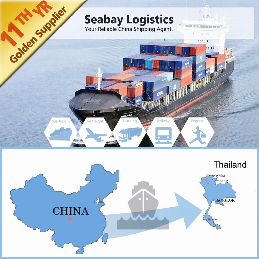 international container sea freight shipping service to bangkok