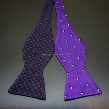 school cheap silk bow tie