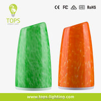Rechargeable battery colorful cordless aqua tower shape Gift table lamp