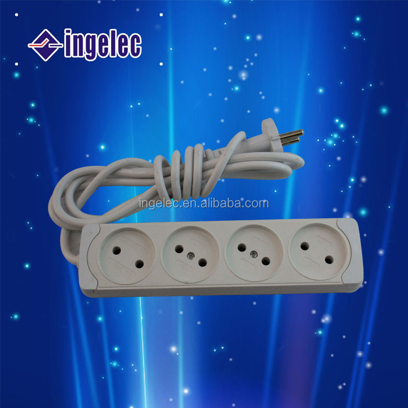 AC power socket with fuse multi industrial 16 amps socket extension cord