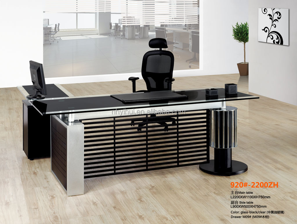 Modern office table with glass top - Modern Office Table With Glass Top Buy Office Table Glass Top Office Table Modern Tempered Glass Table For Office Product On Alibaba Com