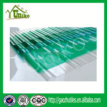 construction building materials shower room lexan polycarbonate sheet price PC corrugated sheets